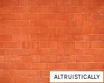 ALTRUISTICALLY anagram