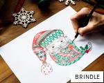 BRINDLE anagram