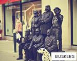 BUSKERS anagram