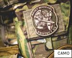 CAMO anagram