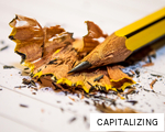 CAPITALIZING anagram