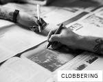CLOBBERING anagram