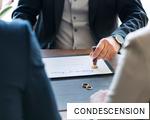 CONDESCENSION anagram