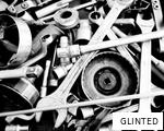 GLINTED anagram