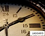 LAGGARD anagram