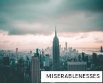MISERABLENESSES anagram