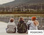POGROMS anagram