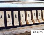 RESHES anagram