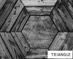 TRIANGLE anagram